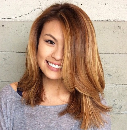 Layered Lob Haircut