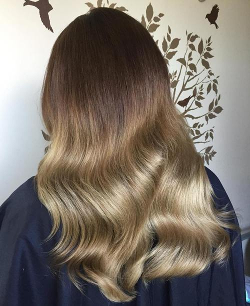 Blonde Ombre Hair To Charge Your Look With Radiance - Dark brown ombre hairstyle to blonde