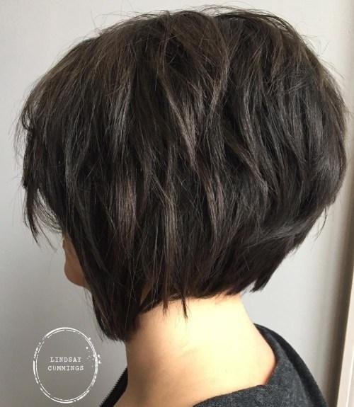 Shaggy Bob Haircut For Thick Hair