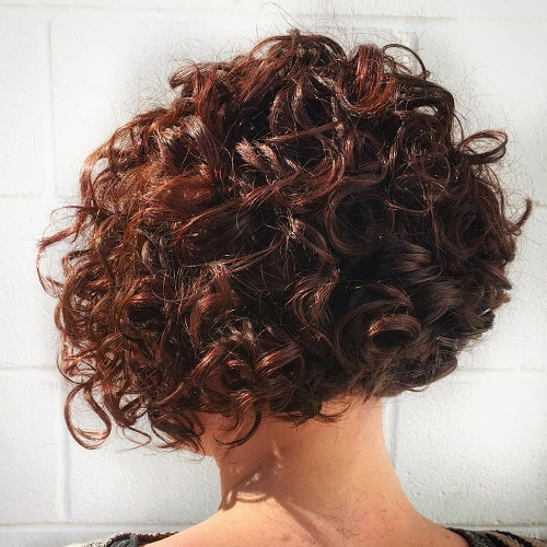 Cool 40 Different Versions Of Curly Bob Hairstyle Hairstyle Inspiration Daily Dogsangcom