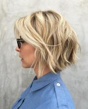 trendiest shaggy bob haircuts