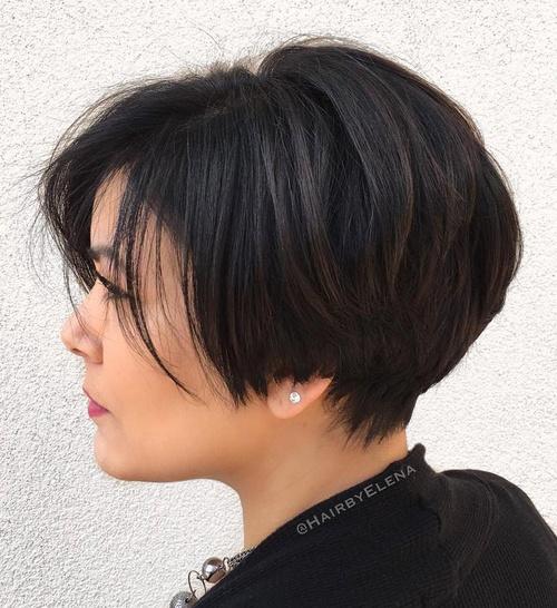 Pixie Bob Haircut For Thick Hair