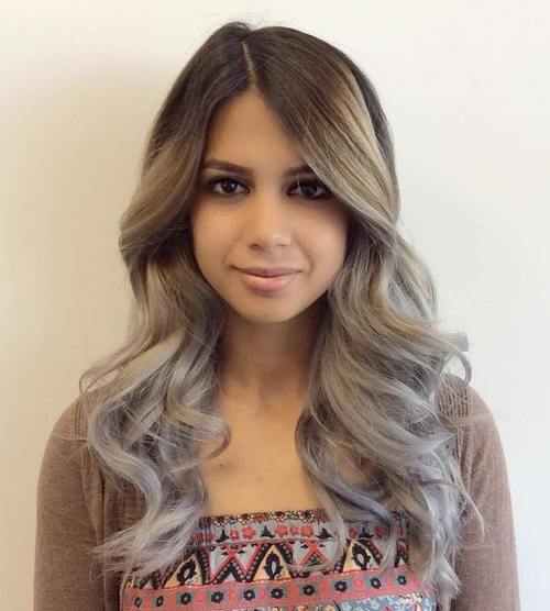 dark blonde hair styles ombre hair to charge your look with radiance 9552 | 9 dark brown to ash blonde ombre