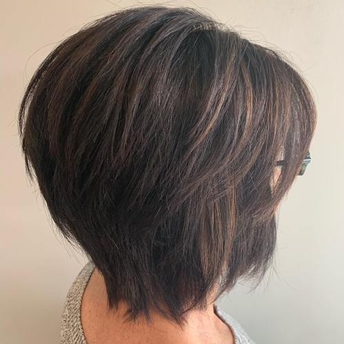 Razored Bob For Thick Hair
