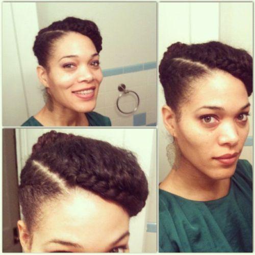 Pleasing 5 Super Creative Updo Hairstyles For Black Women African Curls Short Hairstyles For Black Women Fulllsitofus