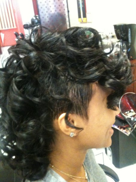 5 exquisite curly mohawk hairstyles