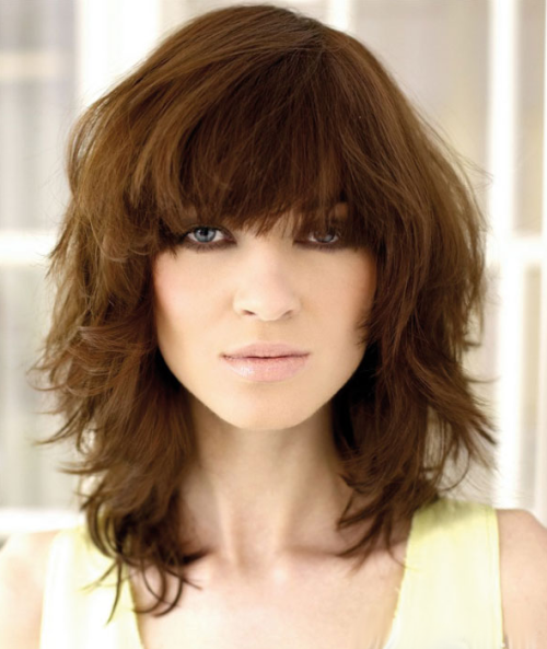 Pleasant 5 Peachy Curly Shag Haircuts For Short Medium Amp Long Curls Hairstyle Inspiration Daily Dogsangcom