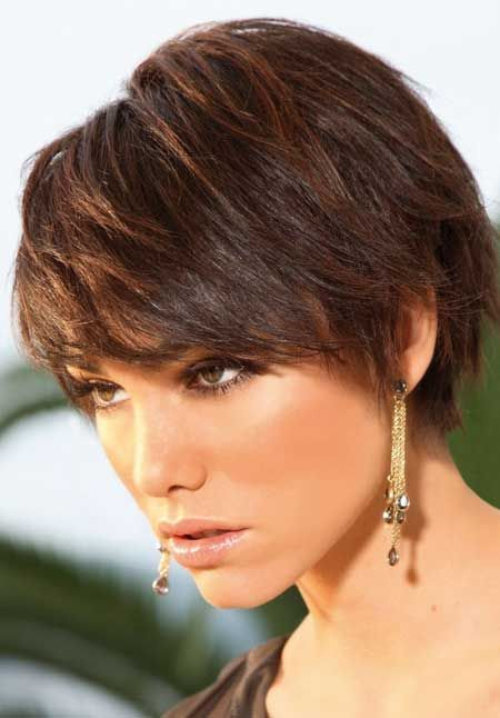 Wondrous 60 Classy Short Haircuts And Hairstyles For Thick Hair Short Hairstyles Gunalazisus