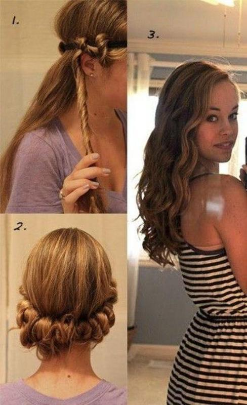 hair curling styles 25 ways of how to make your hair wavy 5653
