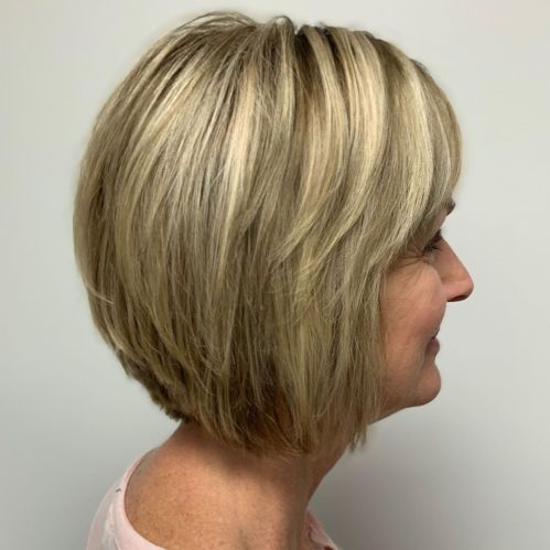 Over Short Bob Haircut With Layers