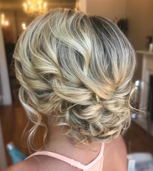 Medium Updo Hair