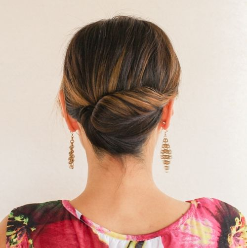 Super 54 Easy Updo Hairstyles For Medium Length Hair In 2017 Short Hairstyles Gunalazisus