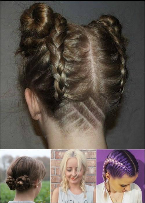 two braids hairstyles for medium hair
