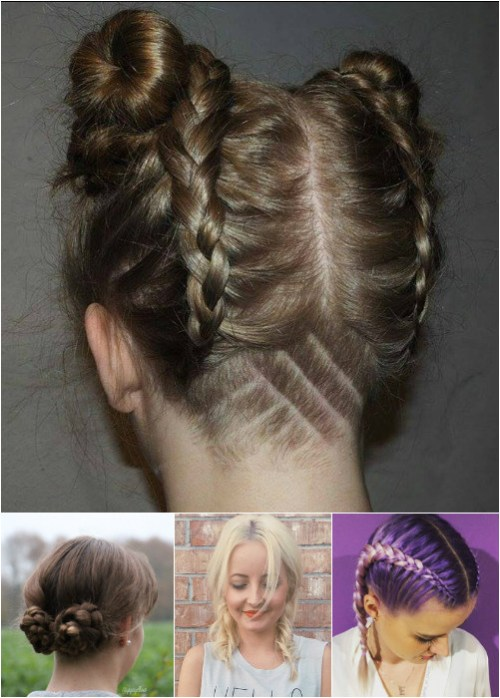 Marvelous 54 Easy Updo Hairstyles For Medium Length Hair In 2017 Short Hairstyles Gunalazisus