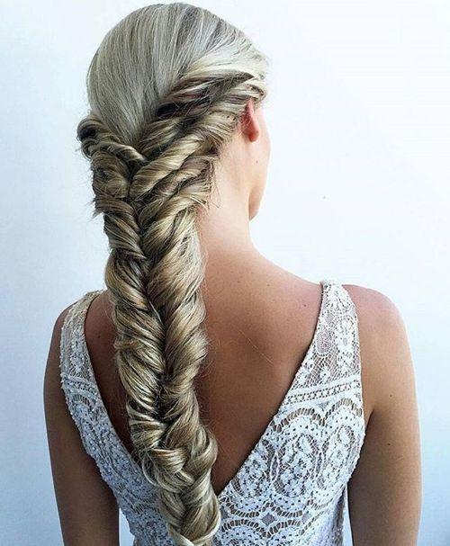 Elegant Fishtail With Twists