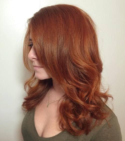Medium Layered Elegant Hairstyle