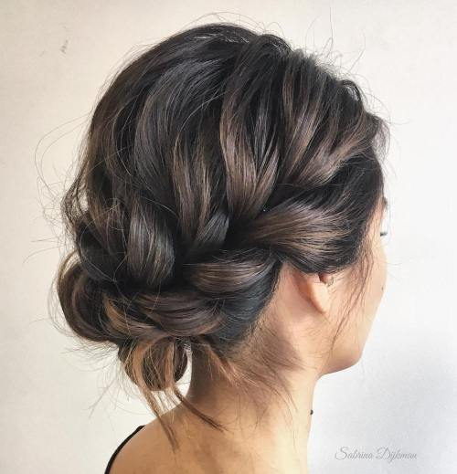 Effortless Bridesmaid Upstyles: 60 Easy Updo Hairstyles For Medium Length Hair In 2019