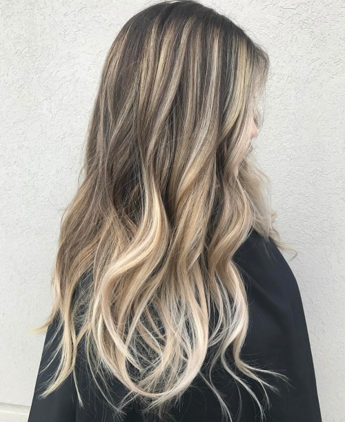 15 Balayage Hair Color Ideas With Blonde Highlights: 50 Variants Of Blonde Hair Color