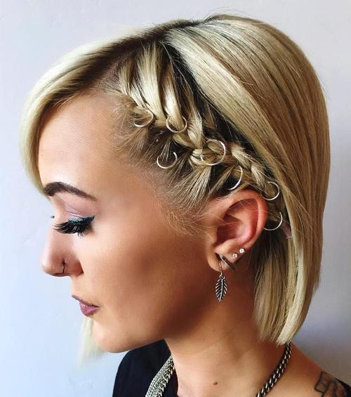 Phenomenal 40 Hottest Prom Hairstyles For Short Hair Hairstyles For Women Draintrainus