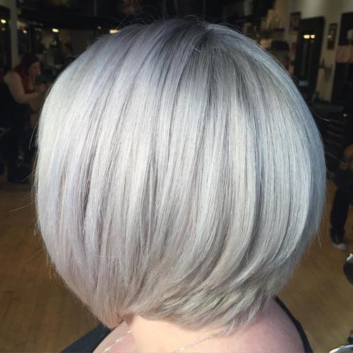 Enjoyable 60 Gorgeous Hairstyles For Gray Hair Short Hairstyles Gunalazisus