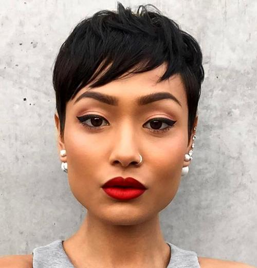 Fine 30 Side Swept Bangs To Sweep You Off Your Feet Short Hairstyles For Black Women Fulllsitofus