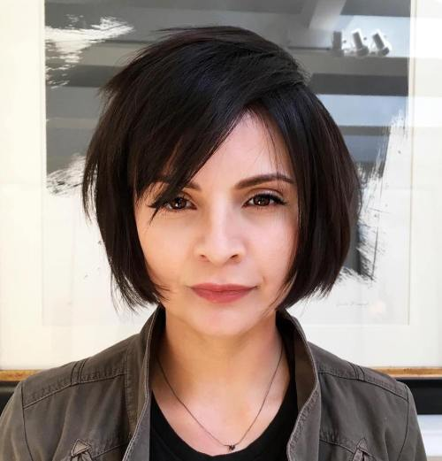 Jaw-Length Choppy Layered Bob