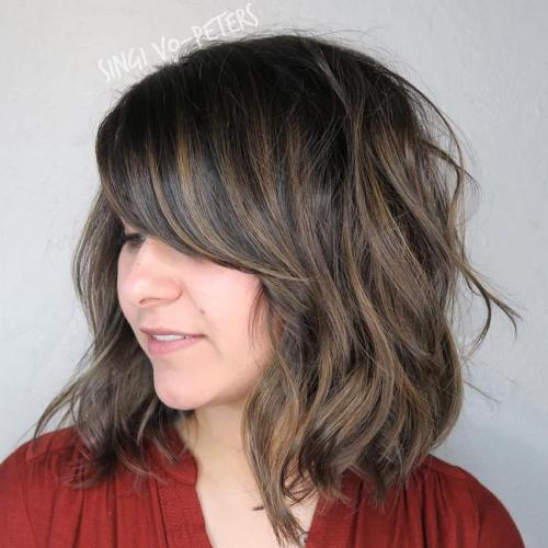 Enjoyable 30 Side Swept Bangs To Sweep You Off Your Feet Short Hairstyles Gunalazisus