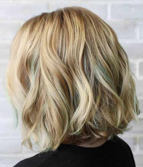 Fabulous 40 Blonde Hair Color Ideas With Balayage Highlights Short Hairstyles Gunalazisus