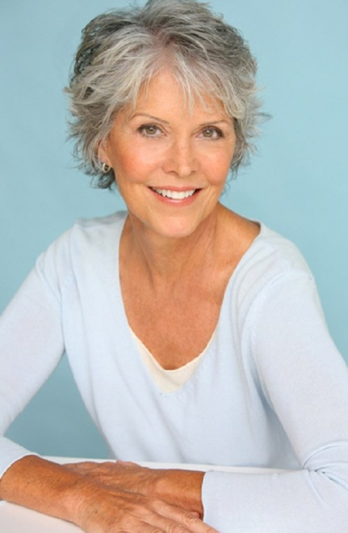 60 gorgeous hairstyles for gray hair short shaggy gray hairstyle urmus Gallery