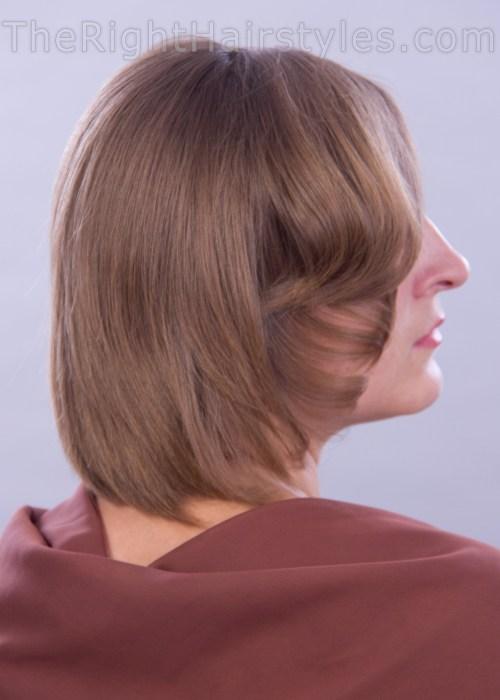 elegant hairstyle for short thin hair