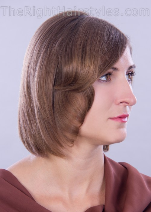 chic hairstyle for fine hair
