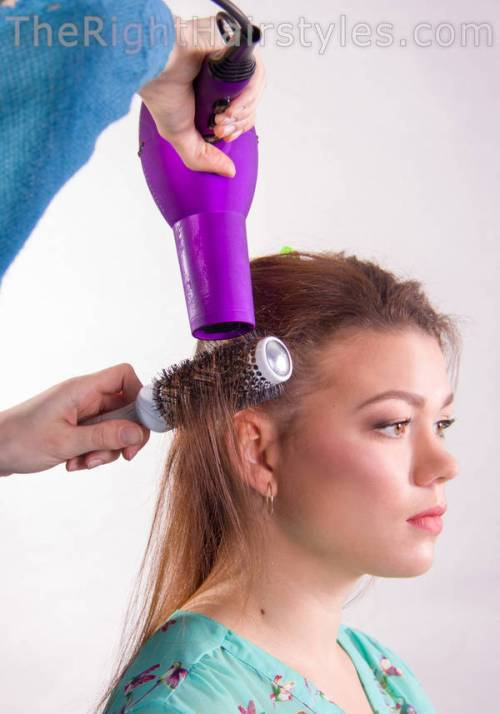 professional hair-drying