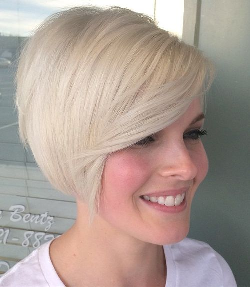 Super 50 Trendiest Short Blonde Hairstyles And Haircuts Hairstyles For Women Draintrainus