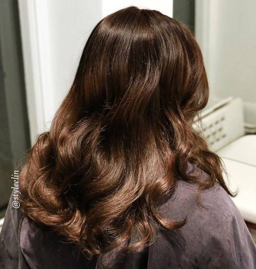 Long Wavy Hairstyle For Brown Hair