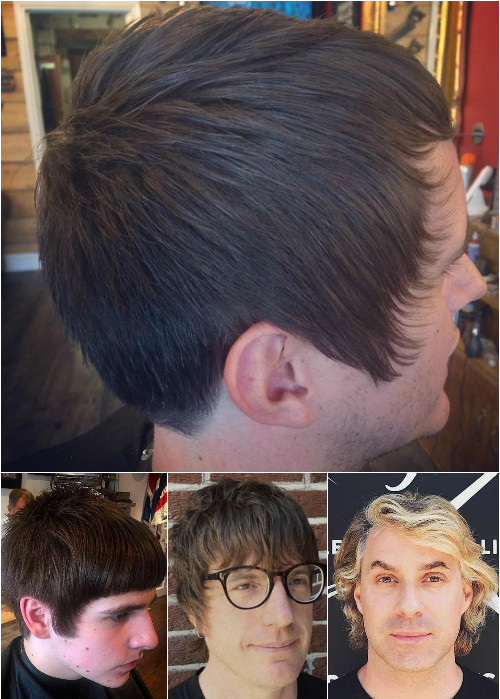 layered haircuts for men