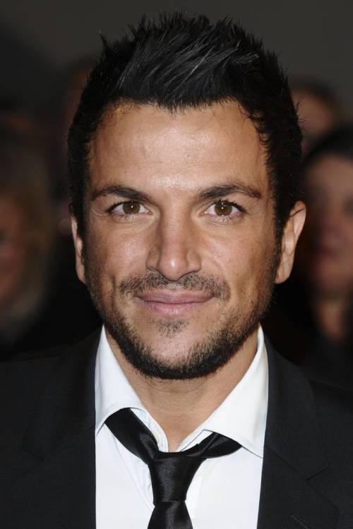 Peter Andre short edgy haircut for men