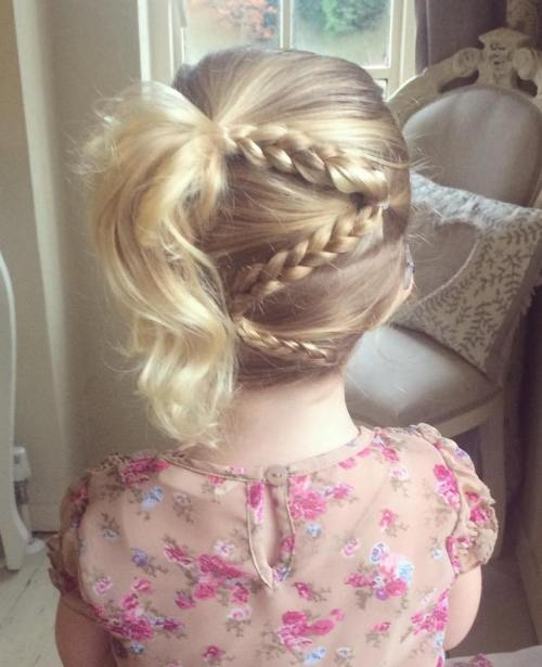 Sensational Braids For Kids 40 Splendid Braid Styles For Girls Short Hairstyles Gunalazisus