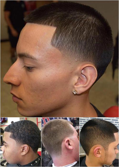 simple short men's haircut