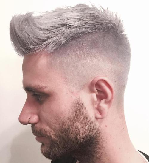 Short Gray Hairstyle For Men