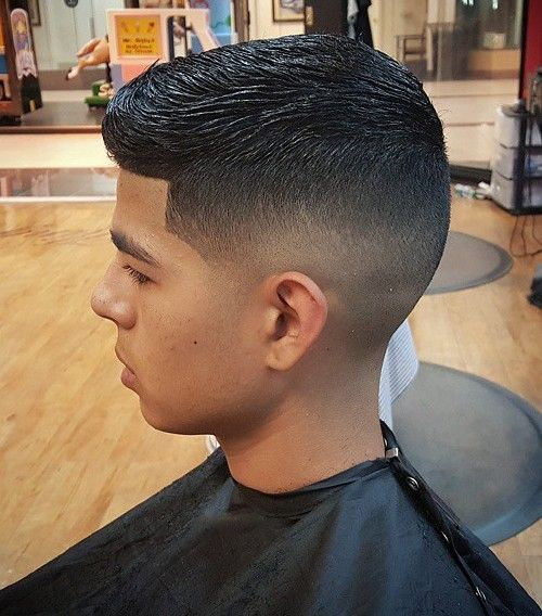 Wet Look Hairstyle For Boys
