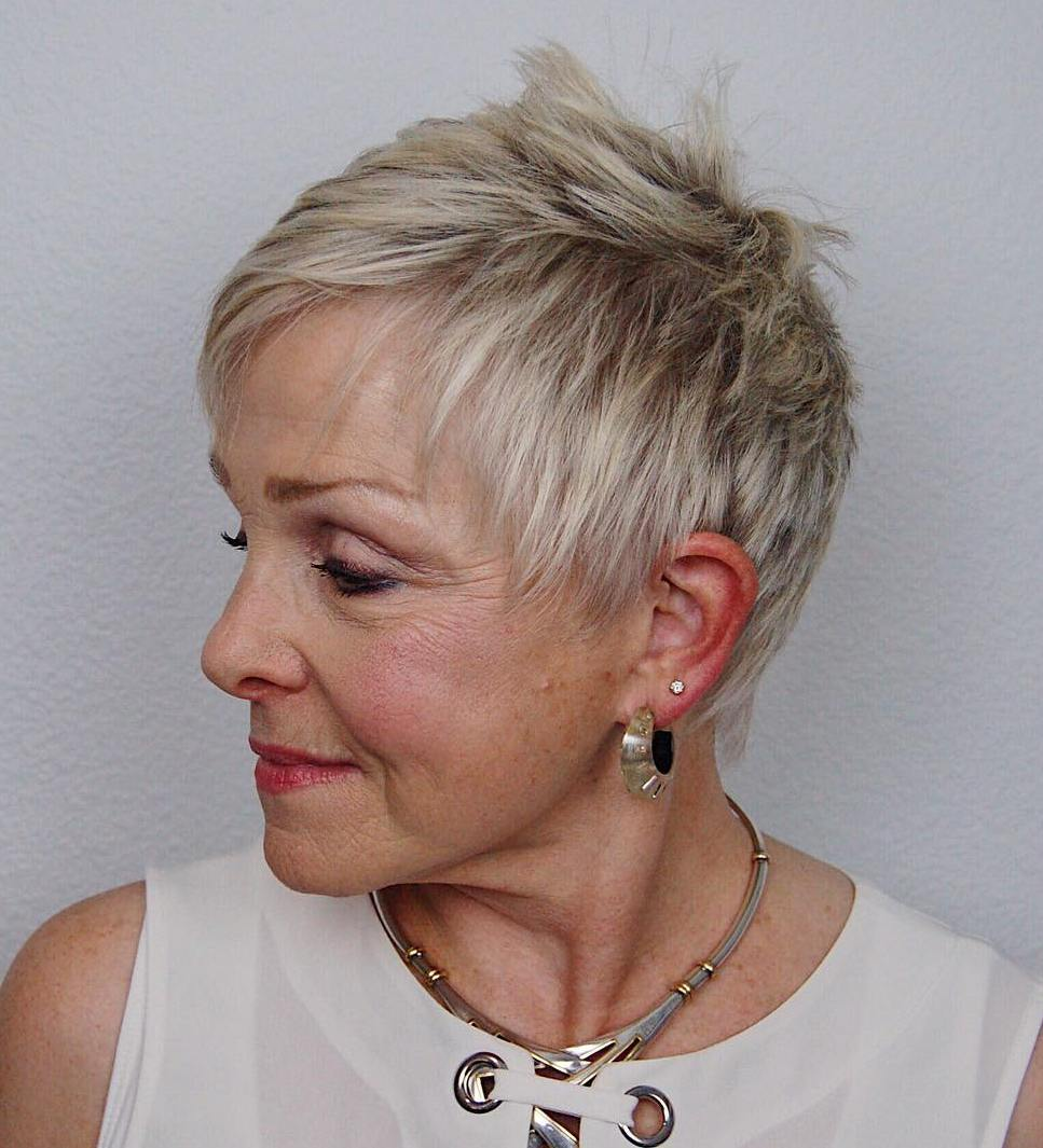 Over 60 short haircuts