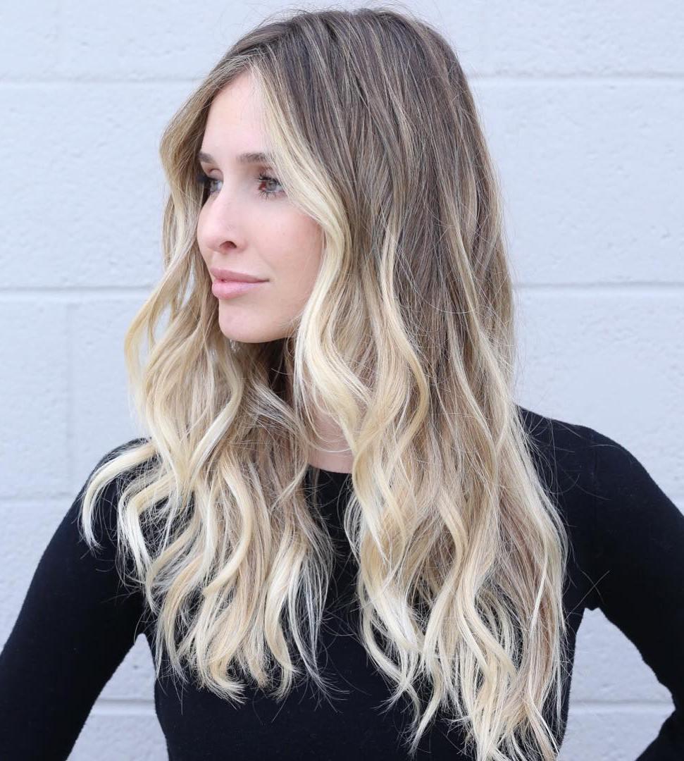 Nice Brown Blonde Balayage For Long Hair
