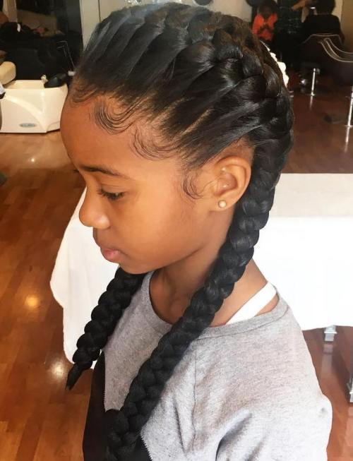 Excellent Black Girls Hairstyles And Haircuts 40 Cool Ideas For Black Coils Hairstyle Inspiration Daily Dogsangcom
