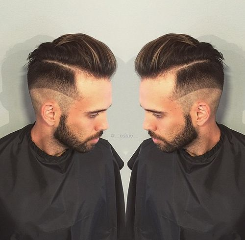men's undercut hairstyle