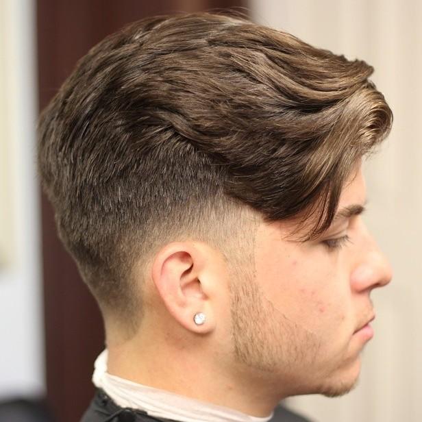 Choppy Taper Haircut