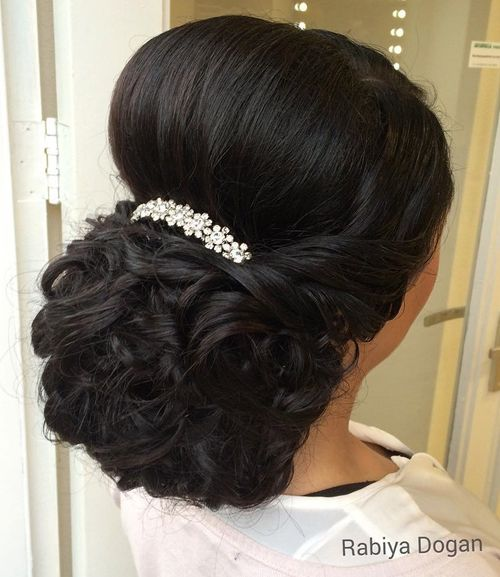 Curly Updo Hairstyles For Weddings: 20 Gorgeous Wedding Hairstyles For Long Hair