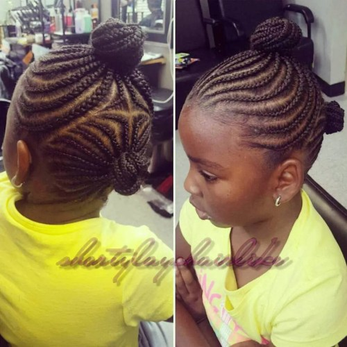 Pleasing Braids For Kids 40 Splendid Braid Styles For Girls Short Hairstyles Gunalazisus