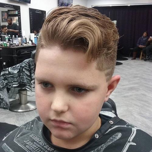 Quiff Haircut For Teenage Guys