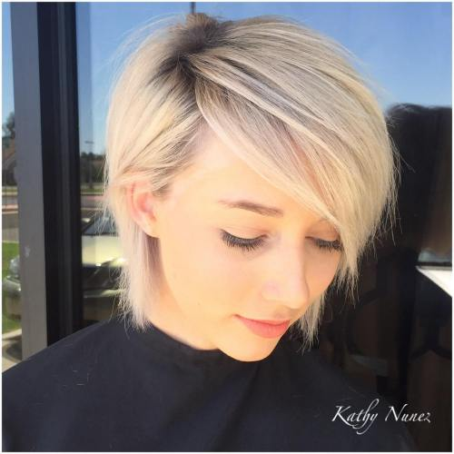 Pleasant 50 Trendiest Short Blonde Hairstyles And Haircuts Short Hairstyles Gunalazisus