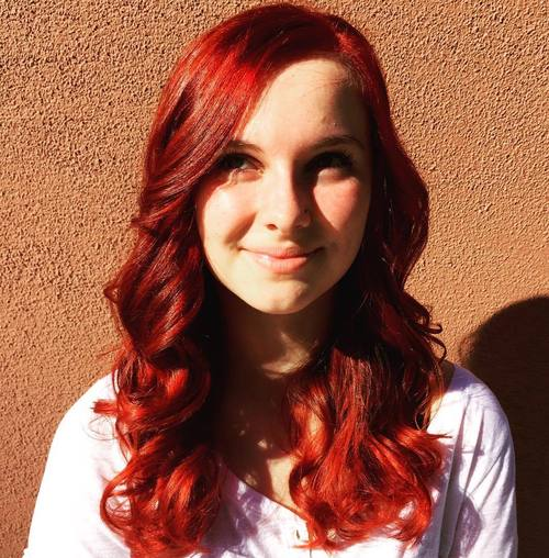 Rich Red Hair Color